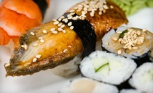 $12 for $25 Worth of Sushi and Japanese Cuisine for Dinner at Silhouette