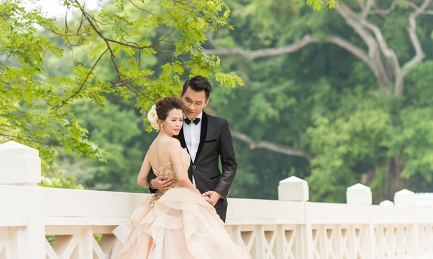 Keanu chang wedding