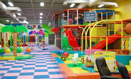 Weekday or Any Day Open-Play Session for Two Children at MEGAPLAY (Up to 37% Off)