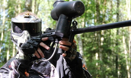 Saturday Paintball with Equipment and Paintballs for Two or Four at ForestFire Paintball (Up to 53% Off)