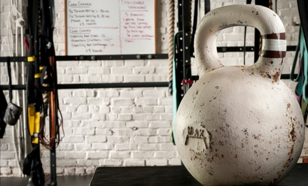 $55 for Unlimited Classes and Initiation Fee at Billings Kettlebell Club ($135 Value)