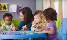 $40 for Month of Child-Development Classes for Babies and Toddlers at PlayWisely ($80 Value). Four Age Groups Available.