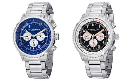Relógio multifuncional para homem Stuhrling Original disponível em dois modelos por 79,99€