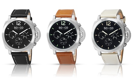 SO & CO New York Men's Casual SoHo Watch Collection
