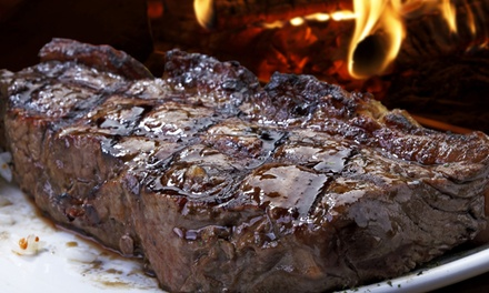 Appetizers, Steaks, and Drinks at BR Steak Bar and Steakhouse (43% Off). Two Options Available.