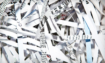 Offsite or Onsite Paper Shredding for an Unlimited Number of Boxes from American Shredding (91% Off)