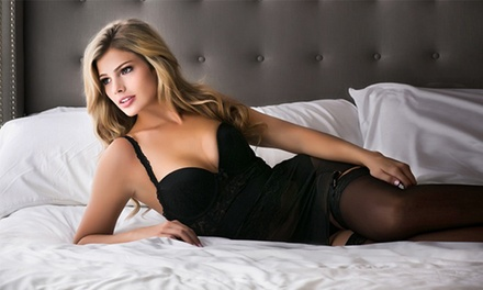 Boudoir Photo-Shoot Package with Optional Makeup and Hairstyling at Karen French Photography (Up to 93% Off)