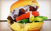 Sliders and Sandwiches for Two or Four at Longboard Grill (Up to 53% Off) 
