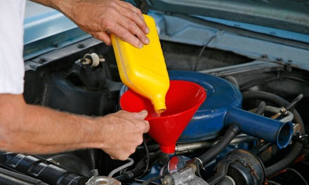 $25 for an Oil Change, Tire Rotation, and Vehicle Inspection at California House of Auto ($120 Value)