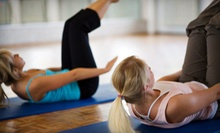 5 or 10 Yoga Classes at Breathe Yoga Studio (Up to 72% Off)