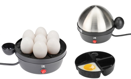 Kalorik Stainless Steel 7-Egg Cooker and Poacher