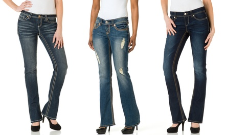 Seven7 Spring Bootcut Jeans