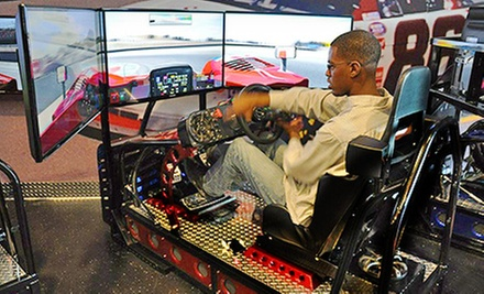 45-Minute Simulated Auto Race for One, Two, or Four at iRaceCenter (Up to 61% Off)