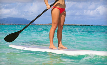 90-Minute Paddleboard Rental (a $20 value)