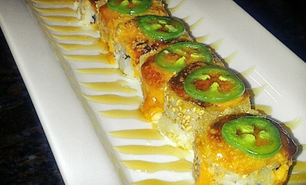 Japanese Meal for Two or Four with Appetizer Plate and Entrees at Ikura Sushi Lounge (Up to 52% Off)