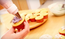 Two-Hour Cupcake-Baking Class for One or Two at BakersVille (Up to 63% Off)