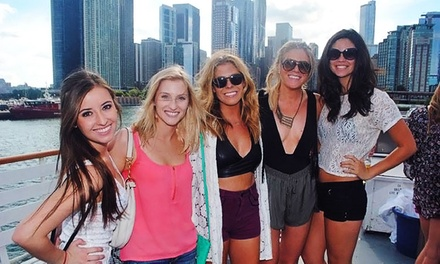 Halloween Eve, Mustache, or Santa Yacht Party on Lake Michigan from Yacht Party Chicago (42% Off)