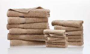 18-piece 100% Egyptian Cotton 600 Gsm Towel Set