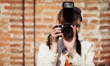 Photography Workshop for One or Two or Two-Hour Private Session for One from Santagto Photography (Up to 80% Off)