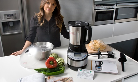 Robô de cozinha multifunções Cecomix comreceituário por 199,99€