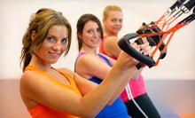 10 or 20 INSANITY or TRX Suspension Training Fitness Classes at Brickhouse Cardio Club in Falls Church (Up to 63% Off)