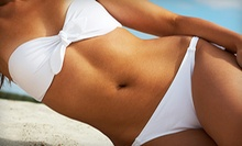 Two Spray Tans or 10 UV Tanning Sessions in Low- or High-Level Beds at Electric Beach Tanning &amp; Spa (Up to 62% Off)