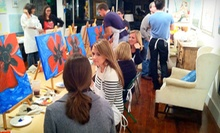 BYOB Painting Class for One or Two at Hook Gallery &amp; Framing (Up to 51% Off)