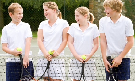 $85 for One Week of Half-Day Junior Tennis Camp at Charlotte City Tennis ($150 Value)