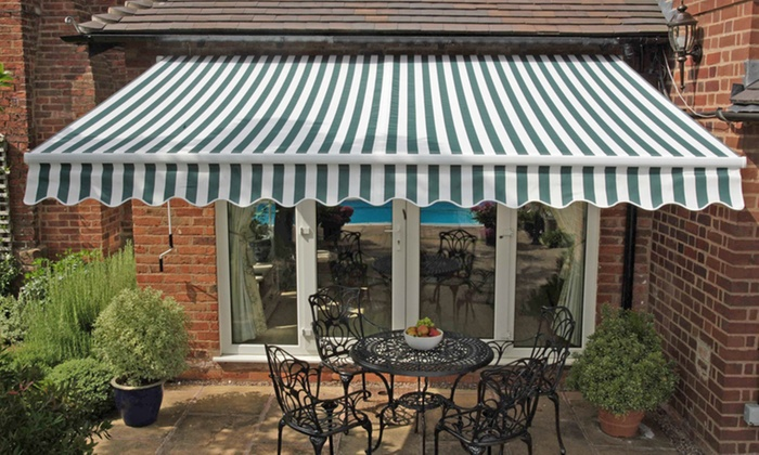 Groupon Goods Global Gmbh Greenhurst Patio Awning Cover Or Awnings In Choice Of Design And