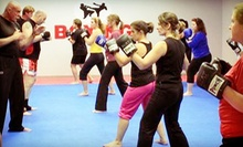 2 Weeks, 1 Month, or 2 Months of Unlimited Muay Thai Kickboxing Classes With Hand Wraps at Total Boxing (Up to 76% Off)