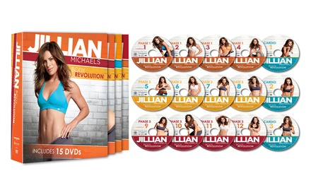 Jillian Michaels Body Revolution Fitness Set