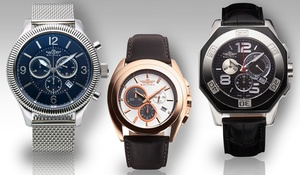 Balmer Swiss Chronograph Watch Collection