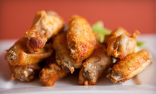 Barbecue, Burgers, and Wings at Firehouse BBQ &amp; Wings (53% Off). Two Options Available. 
