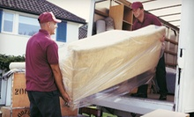 $85 for Two Hours of Moving Services with Two Movers and a Truck from All In A Box Moving & Storage (Up to $300 Value)
