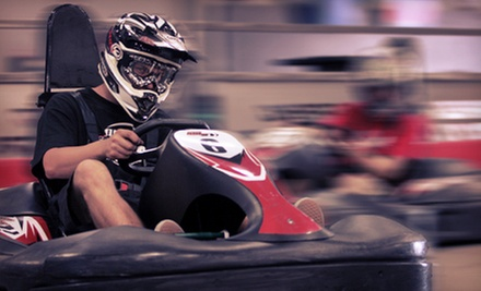Go Kart Racing Package with One-Year Junior or Adult Membership at Speed Factory (Up to 54% Off)
