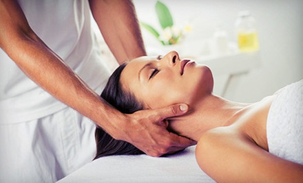 Mothers Day Spa Package with Champagne and Facial, Massage, or Both at Facelogic Spa (Up to 53% Off)