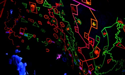 $25 for Cosmic Night-Time Climb for Two with Harnesses, Shoes, & Chalk at Adrenaline Climbing ($40 Value)