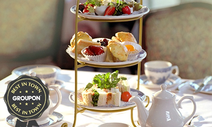 Rowley Manor Hotel - Rowley Manor: Festive Afternoon Tea With Mulled Wine For Two or Four from £19 at Rowley Manor (51% Off)
