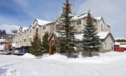groupon daily deal - Stay at Ramada Limited Frisco in Frisco, CO, with Dates into May