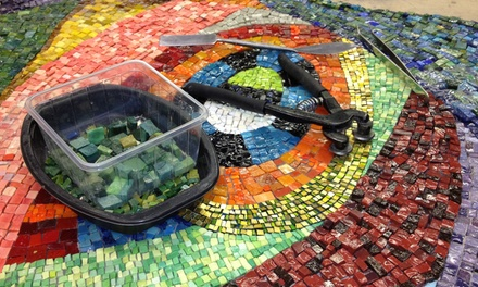 Three-Hour BYOB Mosaic Basics Workshop for One or Two at The Chicago Mosaic School (Up to 48% Off)