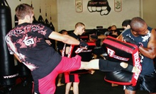 6 or 12 Cardio Kickboxing Classes at Fight Team, LLC. (Up to 62% Off)