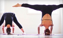 5 or 10 Classes or One Month of Unlimited Early Bird or Regular Classes at Mula Yoga (Up to 70% Off)