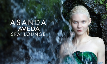 Classic Facial with Optional Eye Treatment or Plant Peel, or Spa Facial at Asanda Aveda Spa Lounge (Up to 53% Off)