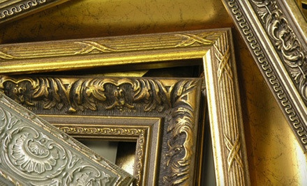 $49 for $100 Worth of Custom Framing at Denali Graphics & Frame