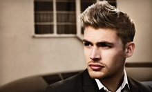 One or Three Mens Haircut Packages with Neck Shave and Scalp Massage at Sharmaine Nichole, Beauty &amp; Barber (Half Off)