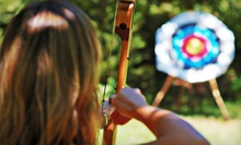 90-Minute Archery Lesson with Equipment Rental for Two or Four from Hidden Gems Inc. (Half Off)