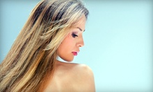 Haircut and Conditioning with Optional Partial or Full Highlights at Déjà Vu European Spa & Salon (Up to 72% Off)