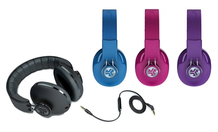 JLab Bombora Over-Ear Headphones with Mic