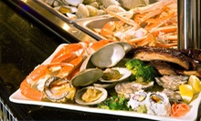 Asian Dinner or Lunch Buffet for Two or Four at East Palace Buffet Restaurant (Half Off)