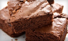 Half-Dozen or One Dozen Brownies or Scones or $12 for $25 Toward Cakes at Wooden Spoon Bakery 